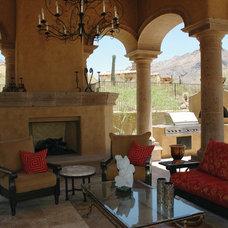 Mediterranean Patio by Fratantoni Luxury Estates