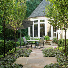 Traditional Patio by Wood Landscape Services, Ltd.