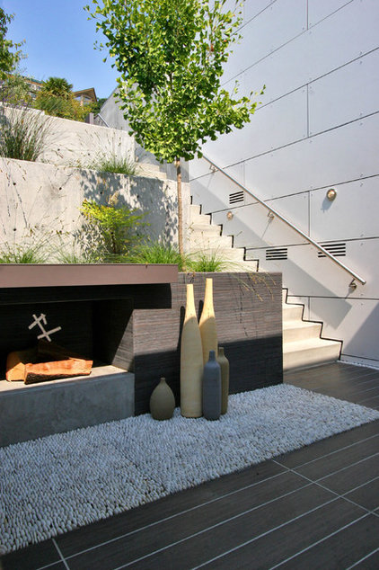 Contemporary Patio by JP Builders, Inc