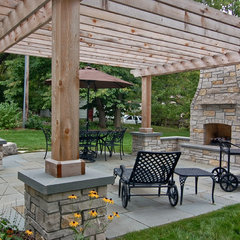traditional patio by Great Neighborhood Homes