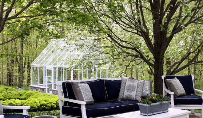 Traditional Patio by Samarotto Design Group