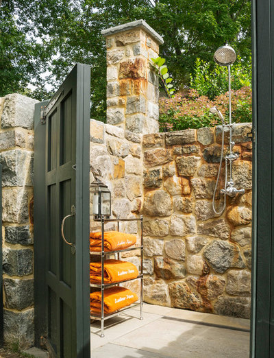 Traditional Patio by Di Biase Filkoff Architects