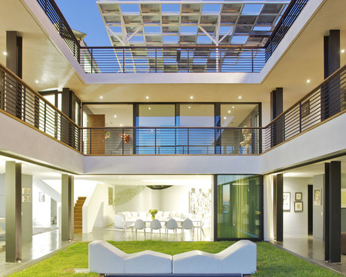 U Shaped House u-shaped house courtyard | houzz