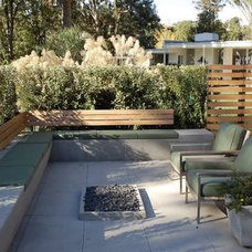 Traditional Patio by Dutton Architects