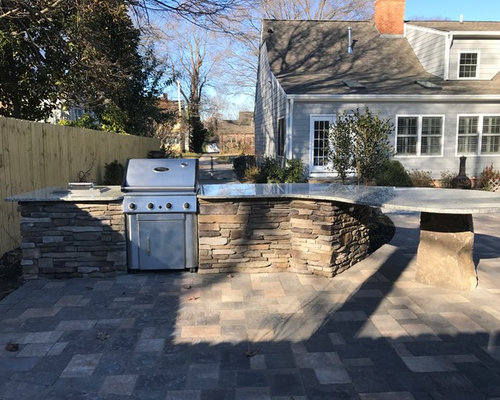 New Garden Landscaping Greensboro : Greensboro nc new raised patio with firepit and outdoor