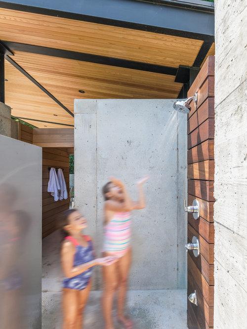 Ideas para patios dise os de patios con losas de - Losas para exterior ...