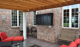 "Greenwood, IN - All-Weather 55"" TV Panel, Audio & Custom Cabinet"