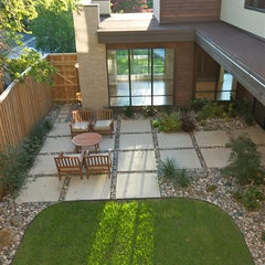 modern patio by Greico Designers/Builders Dallas