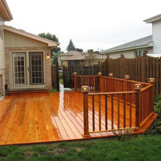 Contemporary Patio by Knollwood Construction