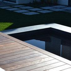 Modern Patio by Grounded - Richard Risner RLA, ASLA