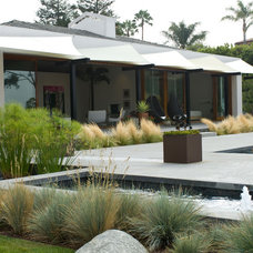 Contemporary Patio by Grounded - Richard Risner RLA, ASLA