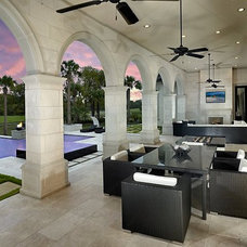 Contemporary Patio by Guido Custom Homes, Inc (Laurie Guido)