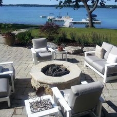 Traditional Patio by Alfresco Landscapes, LLC