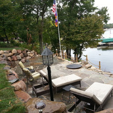 Traditional Patio by Stoney Brook Landscaping