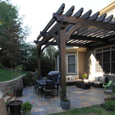 Traditional Patio by Acadia Design Group
