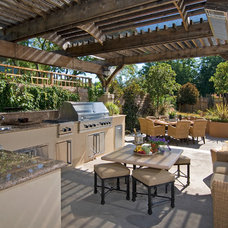 Traditional Patio by Franciscan Landscape