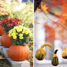 Traditional Patio Halloween Ideas