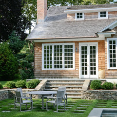 traditional patio by Wettling Architects