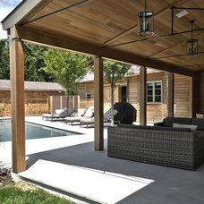 Contemporary Patio by John Hummel & Associates Custom Builders