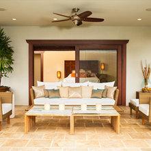 Asian Patio Hanalei Bay Vista Estate