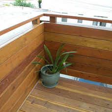 Contemporary Patio by Construction Owl