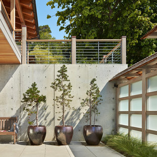 Inspiration for a beach style patio remodel in Seattle