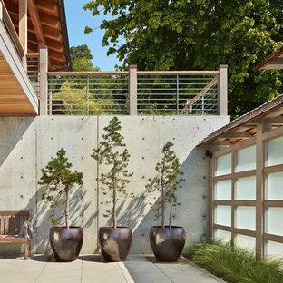 Foto di un patio o portico costiero