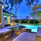 1512 Dolphin Terrace Beach Style Patio Los Angeles