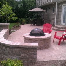 Patio by Drainage and Erosion Solutions LLC