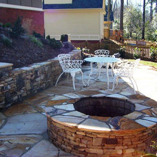 Traditional Patio by Personal Touch Lawn Care, Inc.