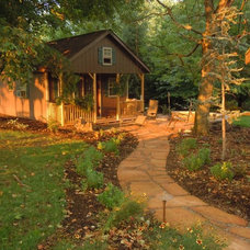 Traditional Patio by Tussey Landscaping, LLC