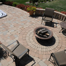 Traditional Patio by Brown Design Group