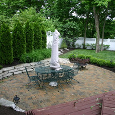 Traditional Patio by LaMond Design