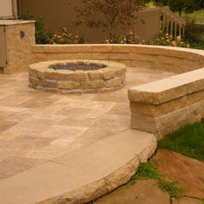 Traditional Patio by Smalls Landscaping