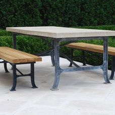 Traditional Patio by Deborah Silver and Co Inc
