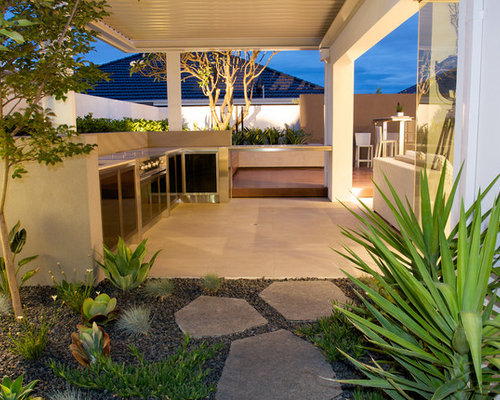 Bbq Design Ideas outdoor grill design ideas affordable top outdoor kitchen design bbq design ideas Example Of A Mid Sized Trendy Patio Design In Perth With A Pergola