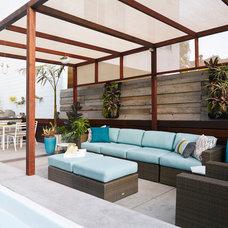 Modern Patio by Reynlds-Sebastiani Design Services