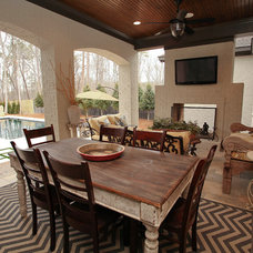 Traditional Patio by Kerri Robusto Interiors