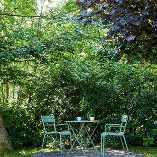 Esempio di un patio o portico nordico