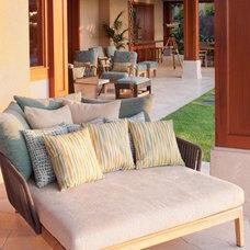 Tropical Patio by Willman Interiors / Gina Willman, ASID
