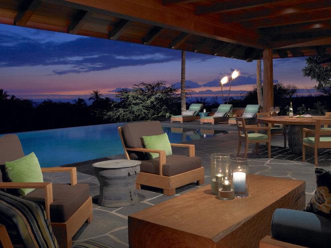 Tropical Patio by Dara Rosenfeld Design