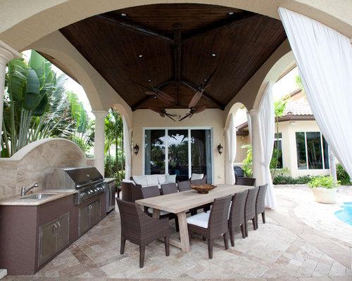 1078638 outdoor kitchen backsplash home design photos - Outdoor Kitchen Backsplash Ideas