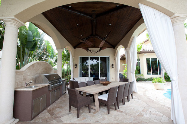 Mediterranean Patio by Complete Home Improvement Group Inc.