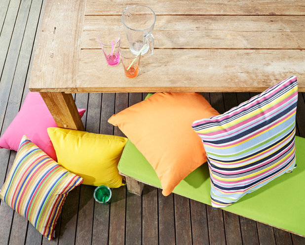 Contemporary Patio by Elements Weatherproof Soft Furnishings