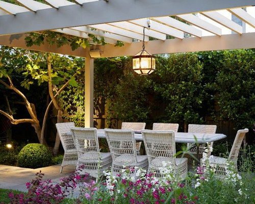 Inspiration For A Timeless Backyard Patio Remodel In Melbourne With Pergola