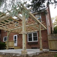 Traditional Patio by Hammerhead Custom Carpentry, LLC of Lancaster