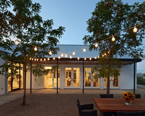 evening courtyard trellis lighting photos i