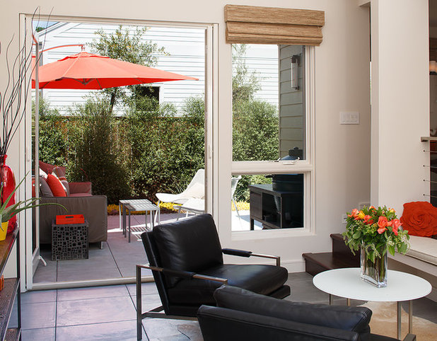 Contemporary Patio by Amy A. Alper, Architect