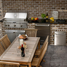 Eclectic Patio by Blue Sky Building Company