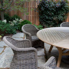 eclectic patio by Matthew Cunningham Landscape Design LLC